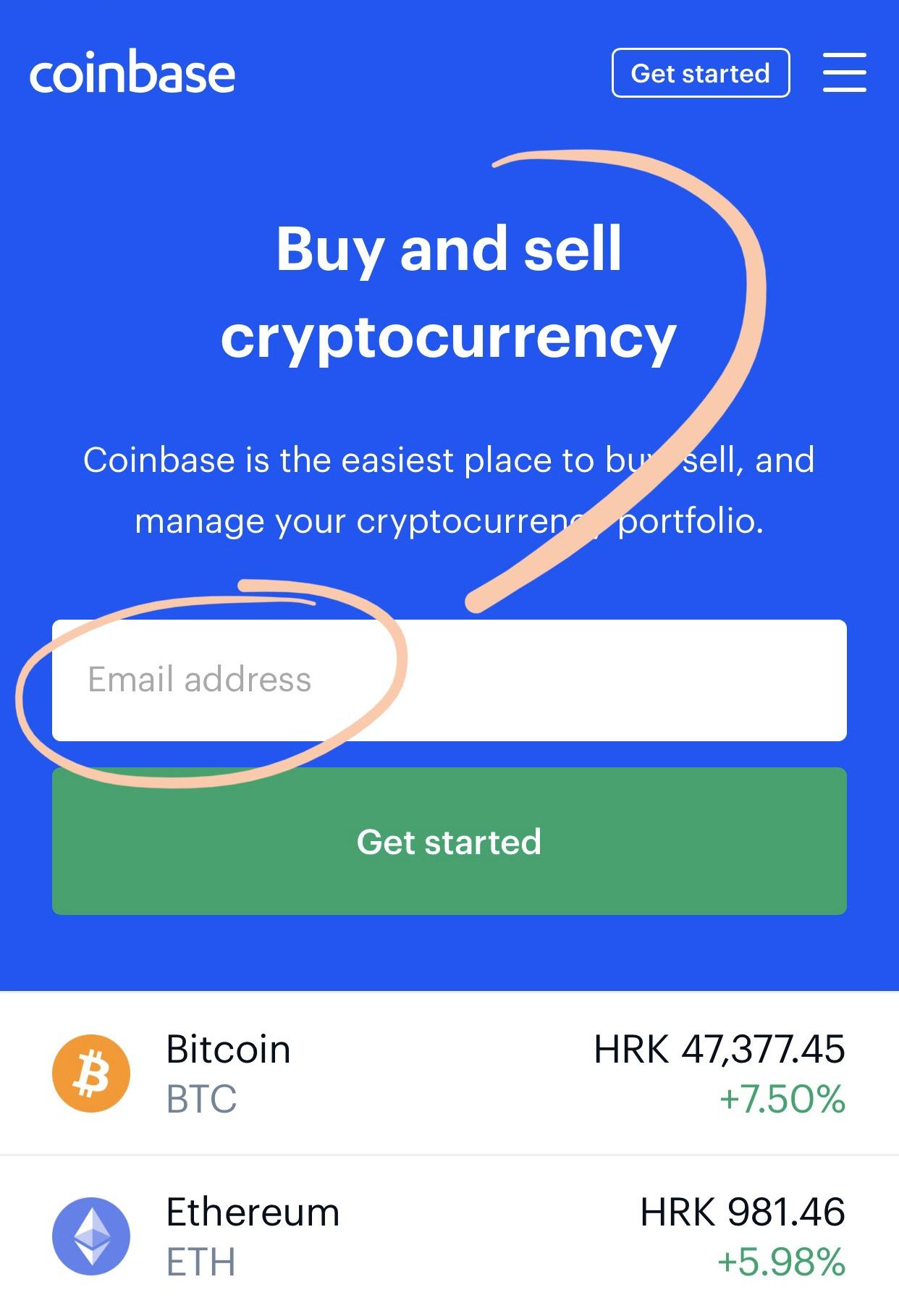 kako kupiti kriptovalute